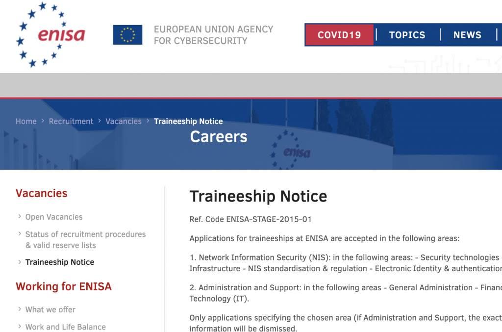 Agencia Europea para la Seguridad Informática Grecia