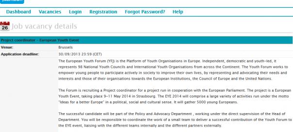 European Youth Forum Recruitment - 2013-09-26_12.23.30