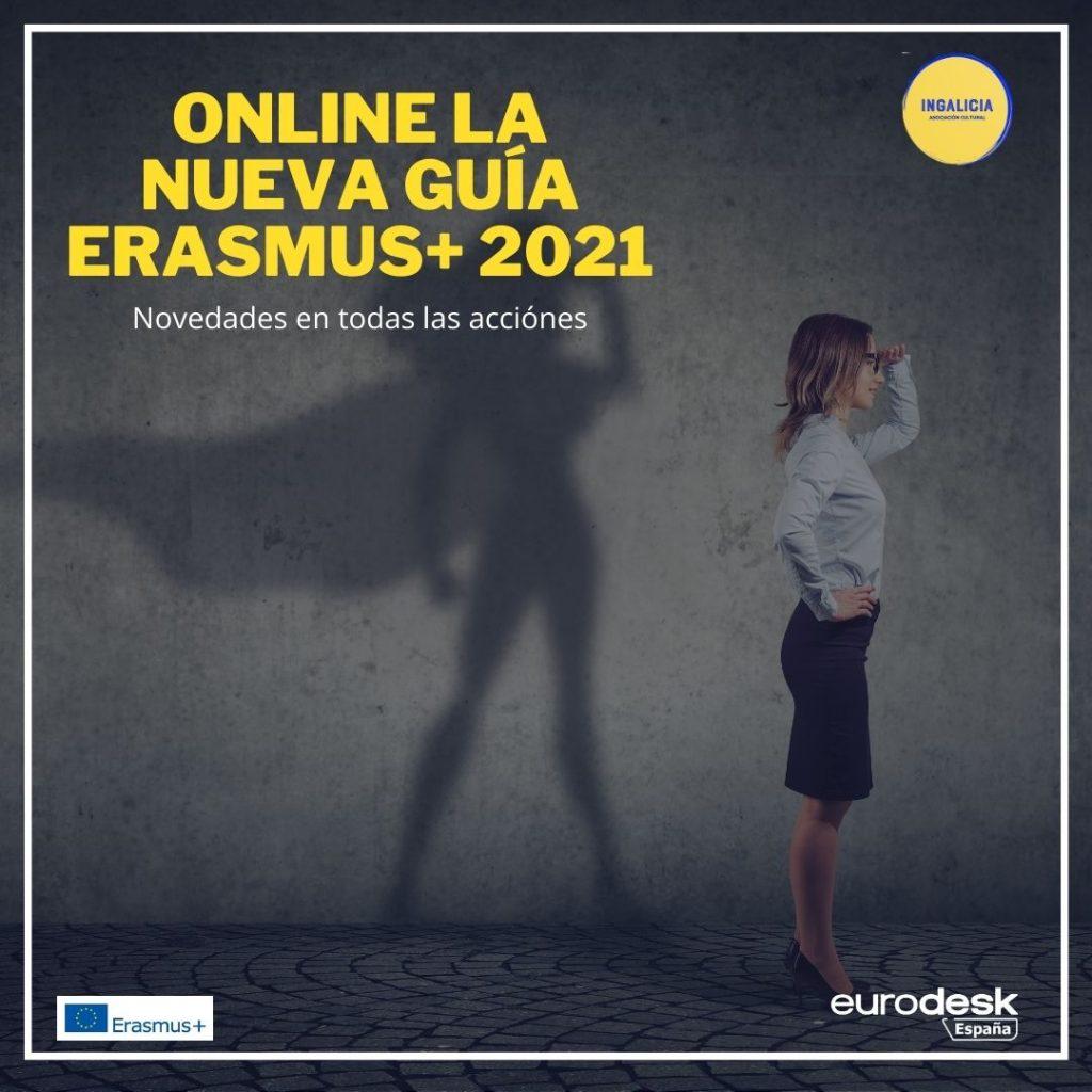 Guía Erasmus+ 2021 en castellano