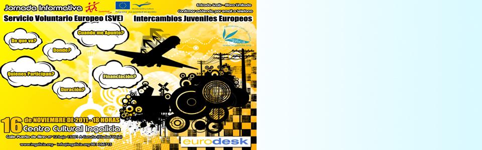 Jornadas.SVE .web 1 - Jornada Informativa - Servicio Voluntario Europeo (SVE) e Intercambios Juveniles