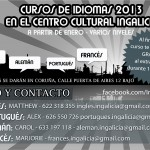 Cursos de idiomas 2013 en Ingalicia