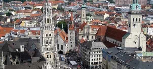 La Marienplatz de Munich es el centro neurálgico de la ciudad./Foto: Tim Rawle