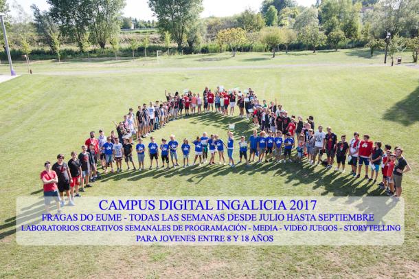 Promo Digital Camp 610x406 - ¡Nace el nuevo campus digital de Ingalicia! ¡Este verano en Galicia!