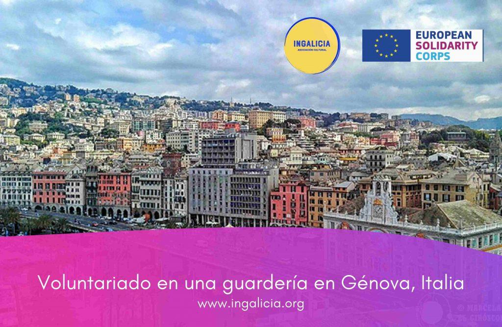 Voluntariado guardería Genova