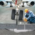 Técnico de mantenimiento de aeropuerto