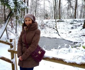 Ángela en Reims, cerca de Nancy