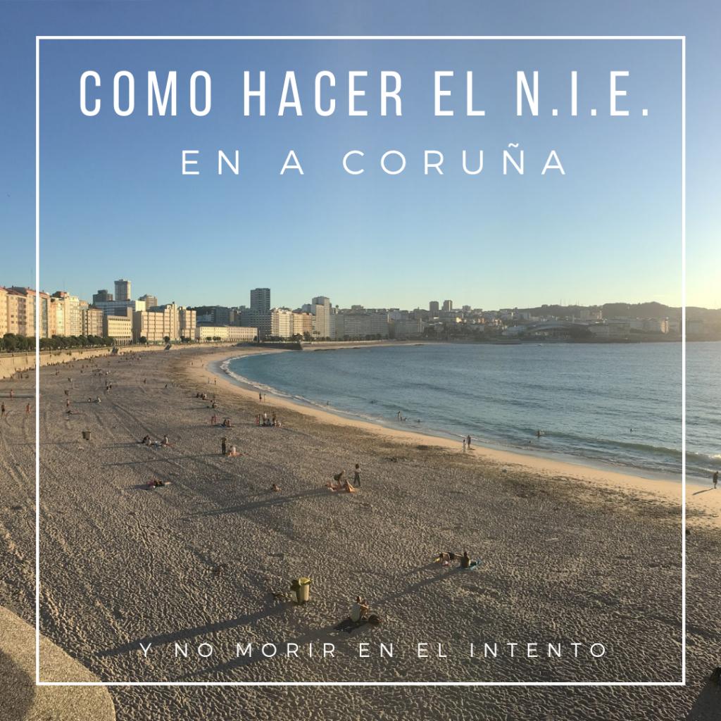 Como hacer el NIE y el Registro de Ciudadano de la Unión en A Coruña