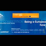 Concurso de ilustración '¿Qué significa para ti ser ciudadano europeo?'