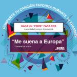 """Concurso de videos """"Me suena a Europa"""" – Participa y gana un viaje para dos!"""