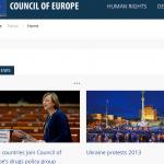 Prácticas en el Consejo de Europa