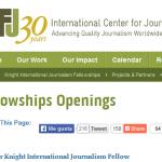 Becas Internacionales Knight de Periodismo